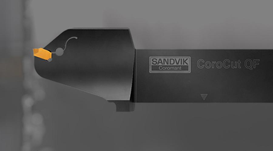 CoroCut® QF   Scanalatura frontale sicura