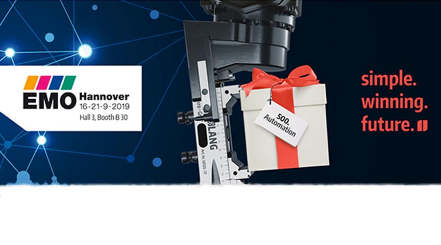Il concorso Lang Technik alla fiera EMO di Hannover