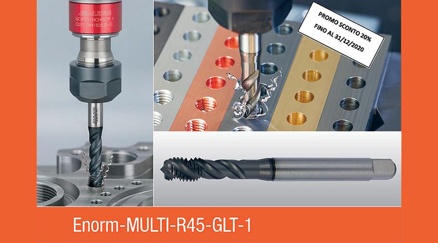 Promo Multi R45 – Lavorazioni universali con il massimo delle performance.