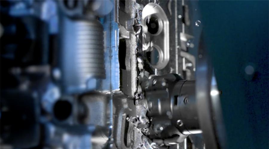 Lavorazione dell'alluminio per componenti più leggeri e un futuro riciclabile con AMAT e Sandvik Coromant.